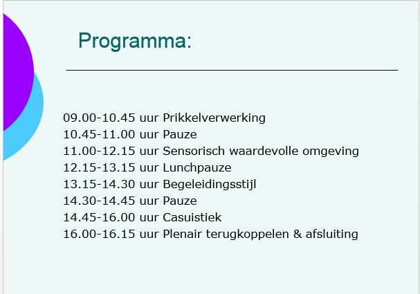 programma studiedag